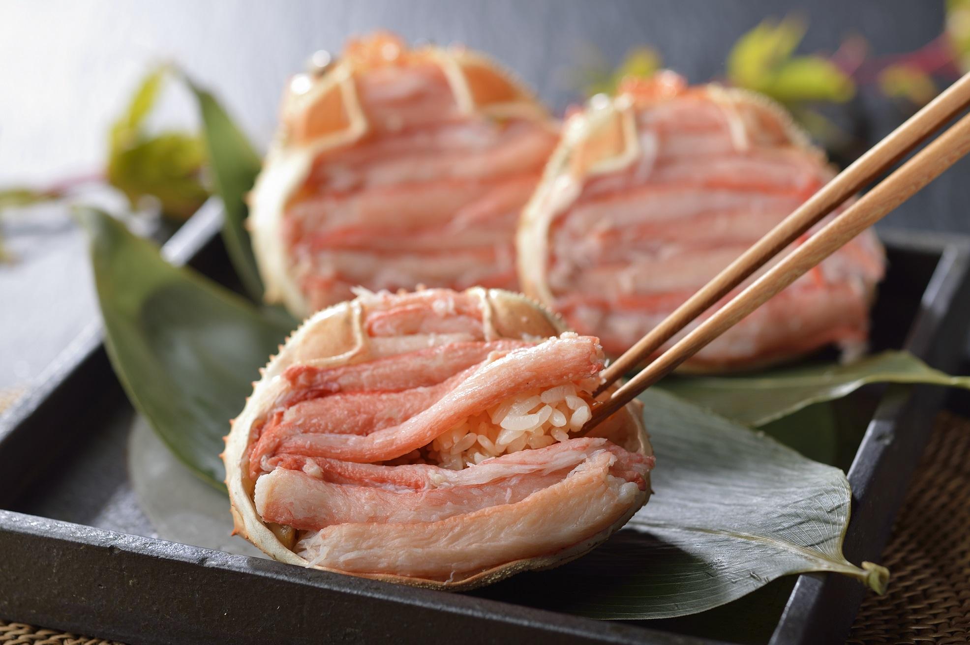 小樽産蟹おこわプレミアム